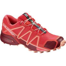 Salomon Speedcross 4 Shoes Women Hibiscus/Red Dalhia/Peach Amber